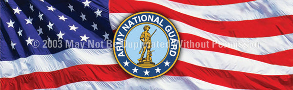 Window Graphic - 20x65 Army national Guard - ClearVue Graphics - Dropship Direct Wholesale
