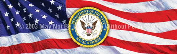 Window Graphic - 20x65 Naval Reserve - ClearVue Graphics - Dropship Direct Wholesale