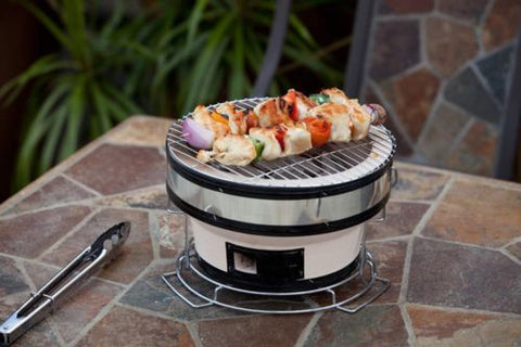 Fire Sense HotSpot Round Yakatori Charcoal Grill - Fire Sense - Dropship Direct Wholesale