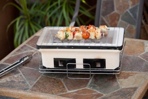 Fire Sense HotSpot Rectangle Yakatori Charcoal Grill - Fire Sense - Dropship Direct Wholesale