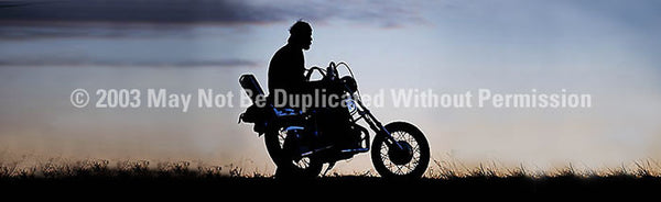 Window Graphic - 20x65 Sportster Sunset - ClearVue Graphics - Dropship Direct Wholesale