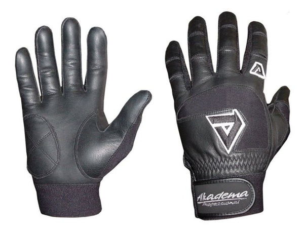 Akadema Black Professional Batting Gloves Small - Akadema - Dropship Direct Wholesale