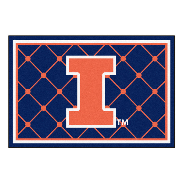 University of Illinois Rug 5x8 - FANMATS - Dropship Direct Wholesale