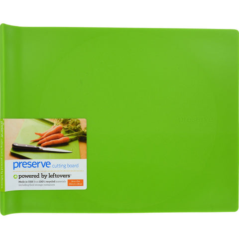 Preserve Large Cutting Board - Green - 14 in x 11 in - Preserve - Dropship Direct Wholesale - 1
