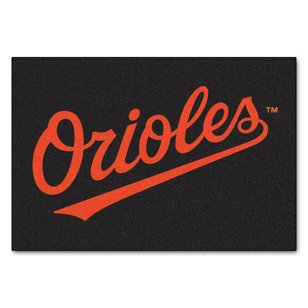 Baltimore Orioles Starter Rug 20x30 - FANMATS - Dropship Direct Wholesale