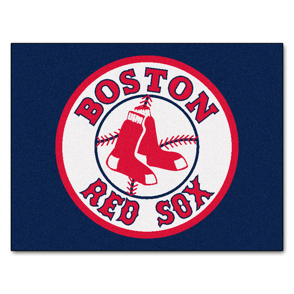Boston Red Sox All-Star Mat 33.75x42.5 - FANMATS - Dropship Direct Wholesale