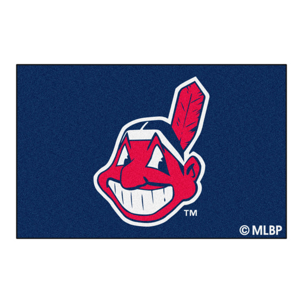 Cleveland Indians Starter Rug 20x30 - FANMATS - Dropship Direct Wholesale