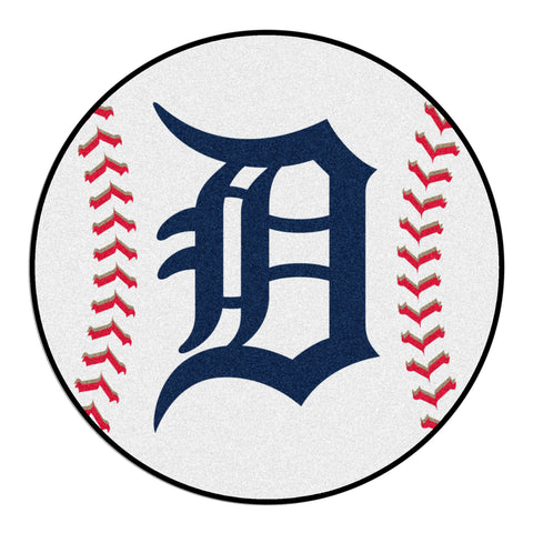 Detroit Tigers Baseball Mat 27 diameter