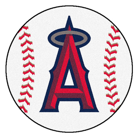 Los Angeles Angels Baseball Mat 27 diameter - FANMATS - Dropship Direct Wholesale
