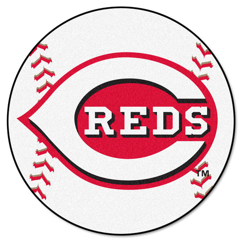 Cincinnati Reds Baseball Mat 27 diameter - FANMATS - Dropship Direct Wholesale
