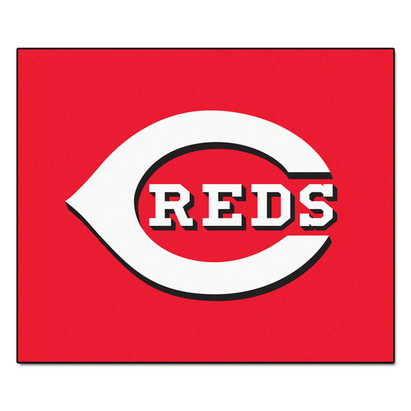 Cincinnati Reds Tailgater Rug 5x6 - FANMATS - Dropship Direct Wholesale