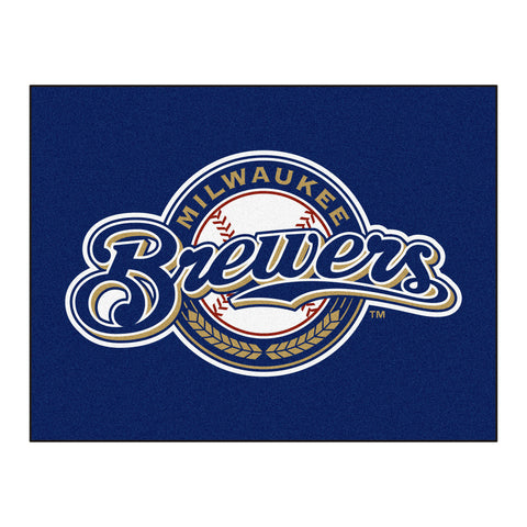 Milwaukee Brewers All-Star Mat 33.75x42.5 - FANMATS - Dropship Direct Wholesale
