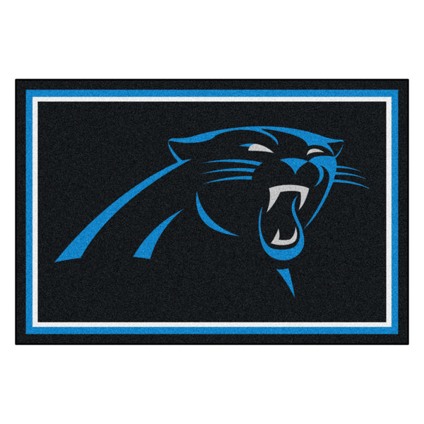 Carolina Panthers Rug 5x8