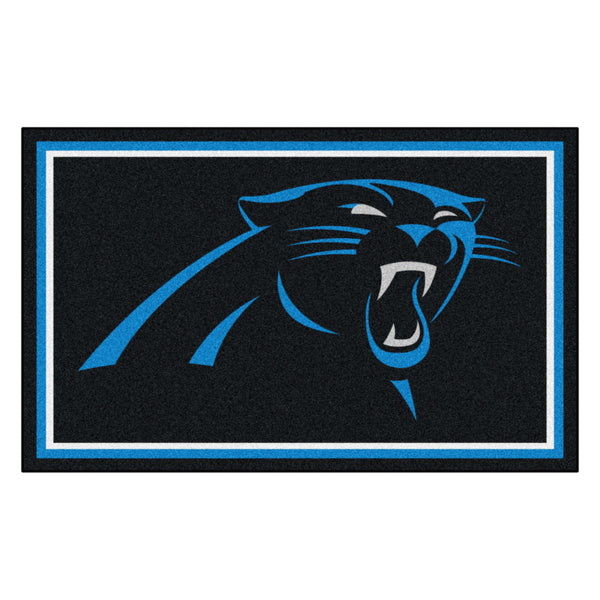 Carolina Panthers Rug 4x6
