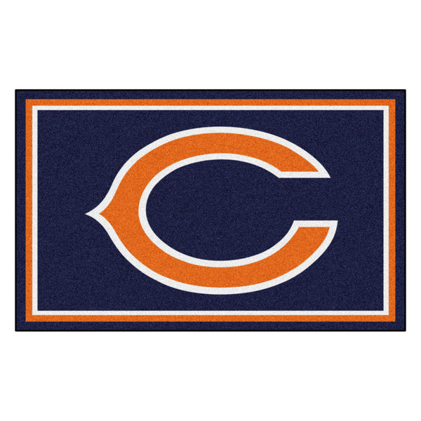 Chicago Bears Rug 4x6