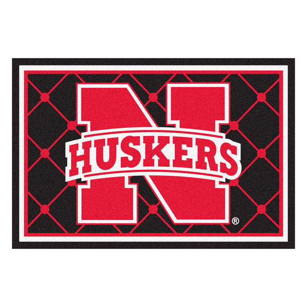 University of Nebraska Rug 5x8 - FANMATS - Dropship Direct Wholesale