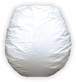 Bean Bag White - Bean Bag Boys - Dropship Direct Wholesale