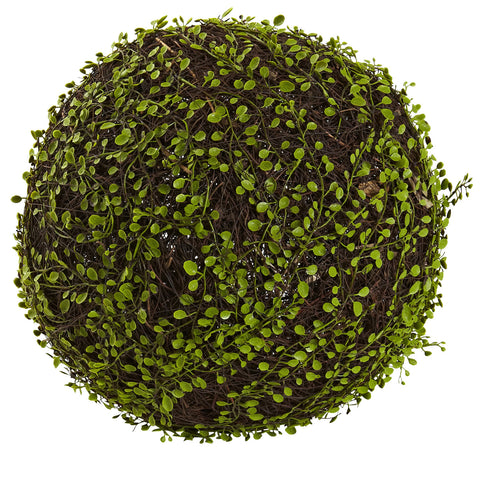 15in Dia. Mohlenbechia Ball - Nearly Natural - Dropship Direct Wholesale