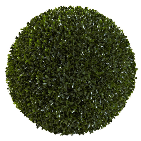 14in Boxwood Ball (Indoor/Outdoor) - Nearly Natural - Dropship Direct Wholesale