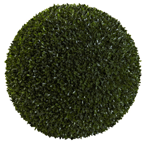 19in Boxwood Ball (Indoor/Outdoor) - Nearly Natural - Dropship Direct Wholesale