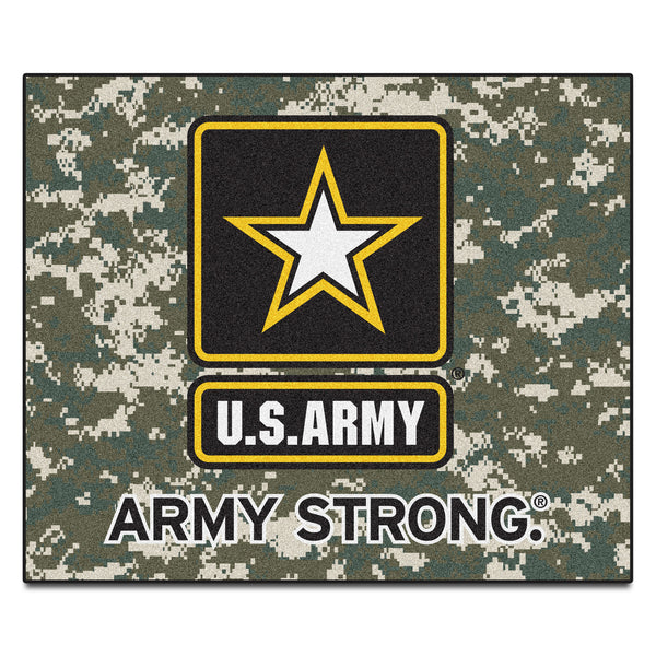 Army Licensed Tailgater Rug 5x6 - FANMATS - Dropship Direct Wholesale