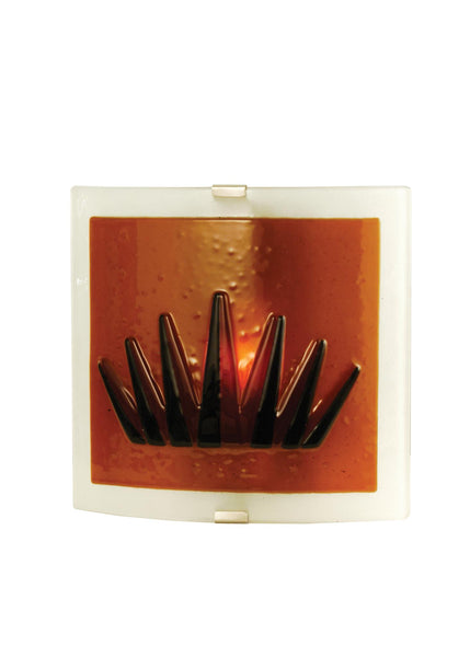 10 Inch W Liberty Fused Glass Wall Sconce - Meyda - Dropship Direct Wholesale