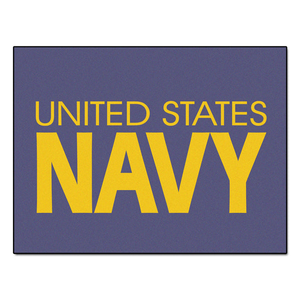 Navy Licensed All-Star Mat 33.75x42.5 - FANMATS - Dropship Direct Wholesale