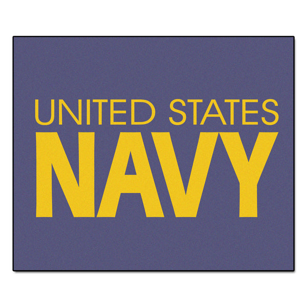 Navy Licensed Tailgater Rug 5x6 - FANMATS - Dropship Direct Wholesale