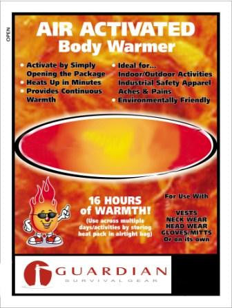 Full Body Warmers (Set of 10) - Guardian - Dropship Direct Wholesale