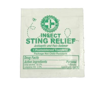 100 Sting Relief Prep Pads - Guardian - Dropship Direct Wholesale