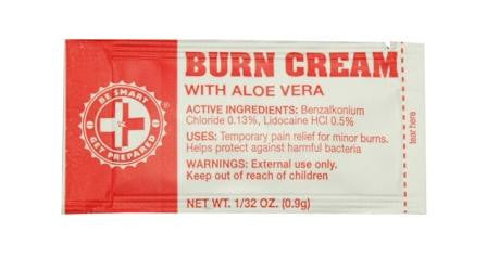 100 Burn Cream Packets - Guardian - Dropship Direct Wholesale