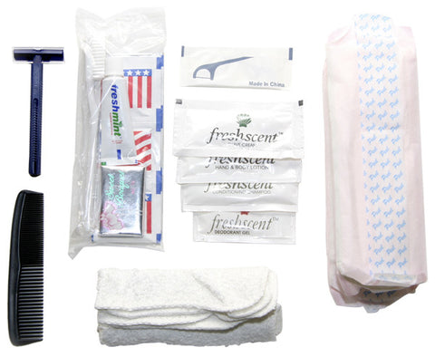 Deluxe Disaster Hygiene Kit (Set of 10) - Guardian - Dropship Direct Wholesale