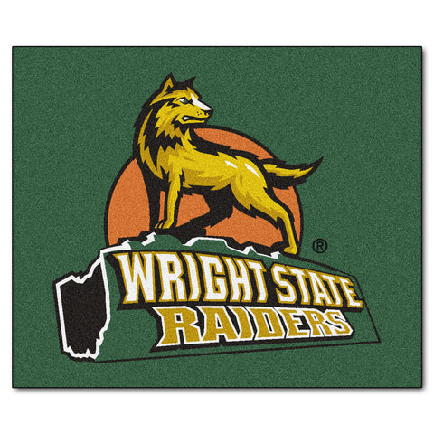Wright State Tailgater Rug 5x6 - FANMATS - Dropship Direct Wholesale
