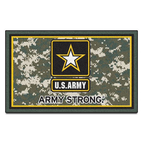 Army Licensed Rug 4x6 - FANMATS - Dropship Direct Wholesale