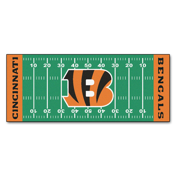 Cincinnati Bengals Runner 30x72 - FANMATS - Dropship Direct Wholesale