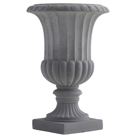 16.5in Decorative Urn (Indoor/Outdoor) - Nearly Natural - Dropship Direct Wholesale