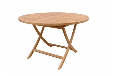 Bahama 47 Inch Round Folding Table - Anderson Teak - Dropship Direct Wholesale