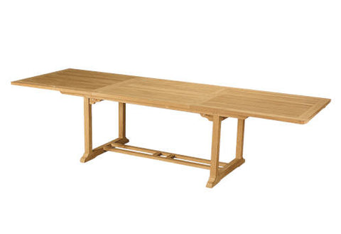 Bahama 10-Foot Rectangular Extension Table - Anderson Teak - Dropship Direct Wholesale