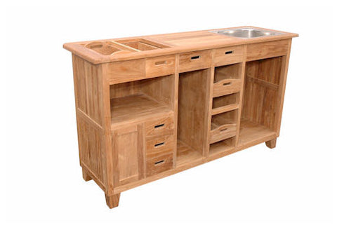 Safari Bar Table - Anderson Teak - Dropship Direct Wholesale