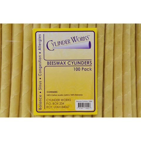 Cylinder Works Cylinders - Beeswax - 100 ct - Cylinder Works - Dropship Direct Wholesale - 2