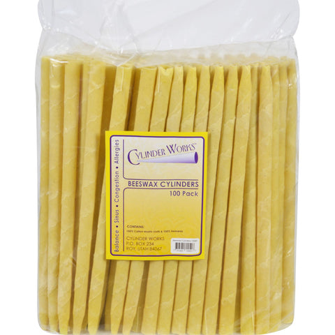 Cylinder Works Cylinders - Beeswax - 100 ct - Cylinder Works - Dropship Direct Wholesale - 1