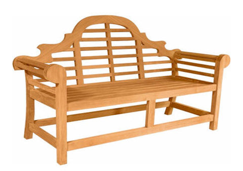 Marlborough 3-Seater Bench - Anderson Teak - Dropship Direct Wholesale