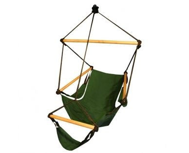 Hammaka Cradle Chair Green Wood Dowels - Hammaka - Dropship Direct Wholesale