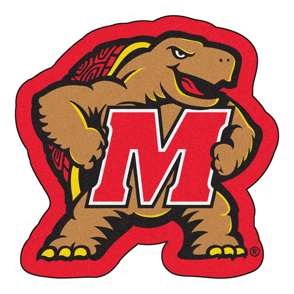 University of Maryland Mascot Mat Approx. 3 ft x 4 ft - FANMATS - Dropship Direct Wholesale