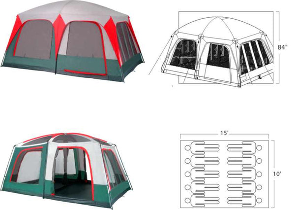 Mt. Greylock family tent - Gigatent - Dropship Direct Wholesale