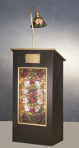 68 Inch H Rosebush Lighted Podium - Meyda - Dropship Direct Wholesale