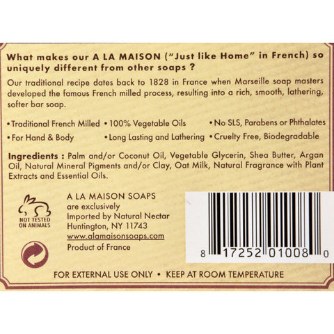 A La Maison Bar Soap - Oat Milk - Value 4 Pack - A La Maison - Dropship Direct Wholesale - 2