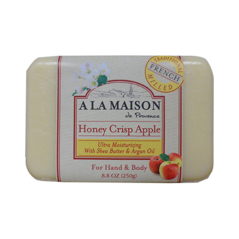 A La Maison Bar Soap - Honey Crisp Apple - 8.8 oz - A La Maison - Dropship Direct Wholesale