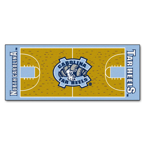 UNC - Chapel Hill Basketball Court Runner 30x72 - FANMATS - Dropship Direct Wholesale