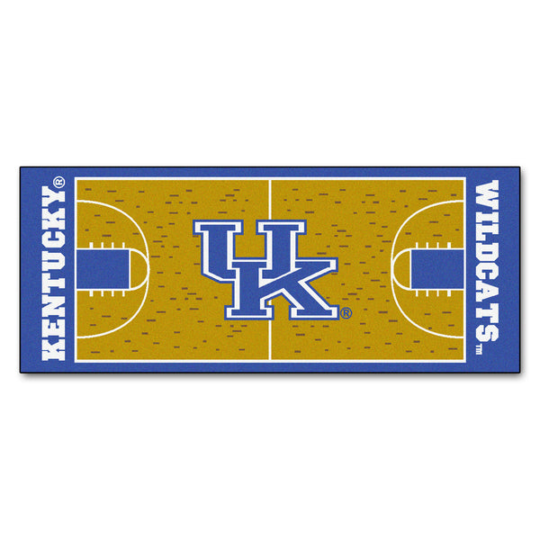 University of Kentucky Basketball Court Runner 30x72 - FANMATS - Dropship Direct Wholesale